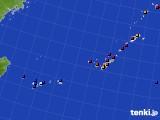 沖縄地方のアメダス実況(日照時間)(2020年05月20日)