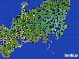 関東・甲信地方のアメダス実況(日照時間)(2020年05月20日)
