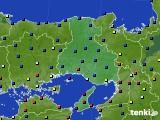 兵庫県のアメダス実況(日照時間)(2020年05月20日)