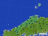 島根県のアメダス実況(日照時間)(2020年05月20日)