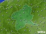 群馬県のアメダス実況(気温)(2020年05月20日)
