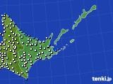 道東のアメダス実況(気温)(2020年05月20日)