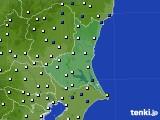 茨城県のアメダス実況(風向・風速)(2020年05月20日)