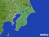 千葉県のアメダス実況(風向・風速)(2020年05月20日)