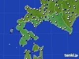 道南のアメダス実況(風向・風速)(2020年05月20日)