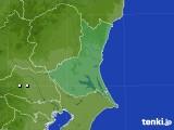 茨城県のアメダス実況(降水量)(2020年05月21日)