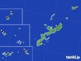 沖縄県のアメダス実況(降水量)(2020年05月21日)