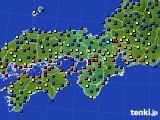 2020年05月21日の近畿地方のアメダス(日照時間)