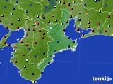 2020年05月21日の三重県のアメダス(日照時間)