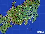 関東・甲信地方のアメダス実況(日照時間)(2020年05月22日)