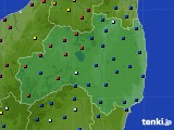 福島県のアメダス実況(日照時間)(2020年05月22日)
