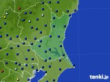 茨城県のアメダス実況(日照時間)(2020年05月22日)