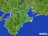 2020年05月22日の三重県のアメダス(日照時間)