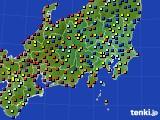 関東・甲信地方のアメダス実況(日照時間)(2020年05月23日)