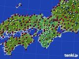 2020年05月23日の近畿地方のアメダス(日照時間)