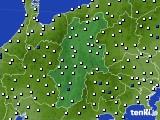 長野県のアメダス実況(風向・風速)(2020年05月23日)