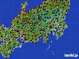 関東・甲信地方のアメダス実況(日照時間)(2020年05月24日)