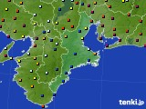 2020年05月24日の三重県のアメダス(日照時間)