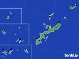 沖縄県のアメダス実況(日照時間)(2020年05月24日)