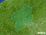 群馬県のアメダス実況(気温)(2020年05月24日)