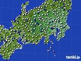 関東・甲信地方のアメダス実況(風向・風速)(2020年05月24日)
