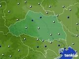 埼玉県のアメダス実況(風向・風速)(2020年05月24日)