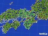2020年05月25日の近畿地方のアメダス(日照時間)