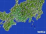 東海地方のアメダス実況(風向・風速)(2020年05月26日)