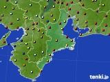 2020年05月27日の三重県のアメダス(日照時間)