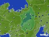 滋賀県のアメダス実況(風向・風速)(2020年05月27日)