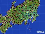 関東・甲信地方のアメダス実況(日照時間)(2020年05月28日)
