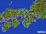 近畿地方のアメダス実況(日照時間)(2020年05月28日)
