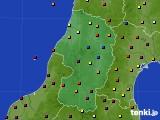 2020年05月28日の山形県のアメダス(日照時間)