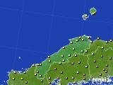 島根県のアメダス実況(気温)(2020年05月28日)
