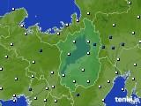 滋賀県のアメダス実況(風向・風速)(2020年05月28日)