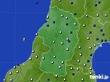 山形県のアメダス実況(風向・風速)(2020年05月28日)