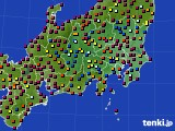 関東・甲信地方のアメダス実況(日照時間)(2020年05月29日)