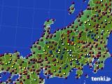 北陸地方のアメダス実況(日照時間)(2020年05月29日)