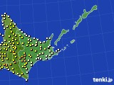 道東のアメダス実況(気温)(2020年05月29日)