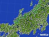 北陸地方のアメダス実況(風向・風速)(2020年05月29日)