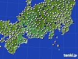 東海地方のアメダス実況(風向・風速)(2020年05月29日)