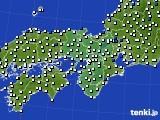 近畿地方のアメダス実況(風向・風速)(2020年05月29日)