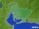 愛知県のアメダス実況(風向・風速)(2020年05月29日)