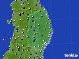 岩手県のアメダス実況(風向・風速)(2020年05月29日)