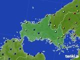 山口県のアメダス実況(日照時間)(2020年05月30日)