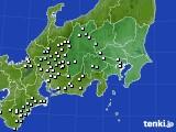関東・甲信地方のアメダス実況(降水量)(2020年05月31日)