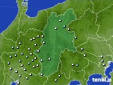 長野県のアメダス実況(降水量)(2020年05月31日)