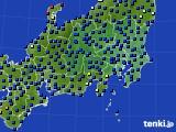 関東・甲信地方のアメダス実況(日照時間)(2020年05月31日)
