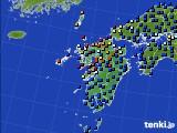 九州地方のアメダス実況(日照時間)(2020年05月31日)