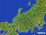 北陸地方のアメダス実況(気温)(2020年05月31日)